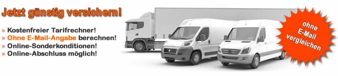 Lieferwagen Versicherung